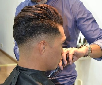 BACK TO BLACK GEL STYLING: Servicios y Productos de The Men's Hair Club
