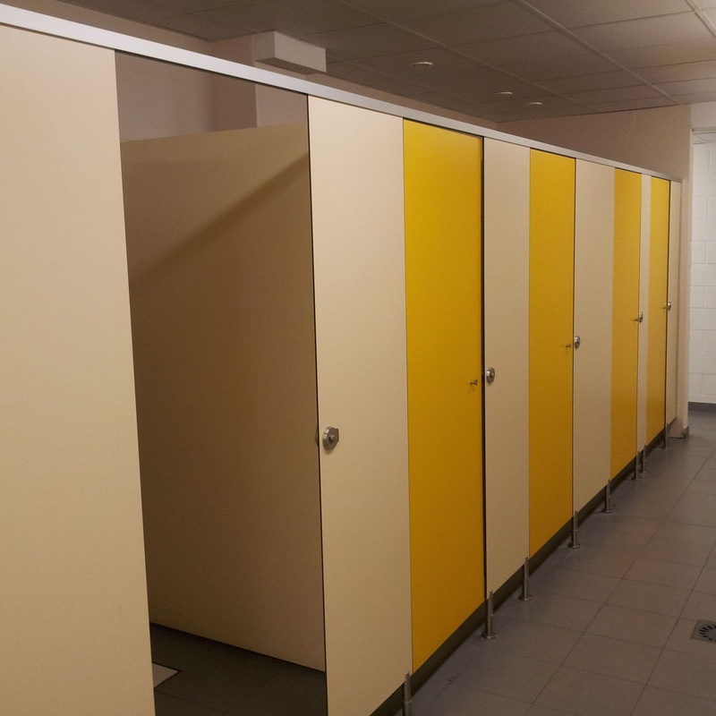 Cabinas melamina modelo E.  (Zonas Secas): Productos de Imfasa Cabinas Sanitarias
