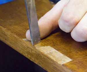 Amplia experiencia en la reparación de muebles