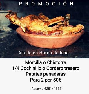 Promoción de Asado a Domicilio