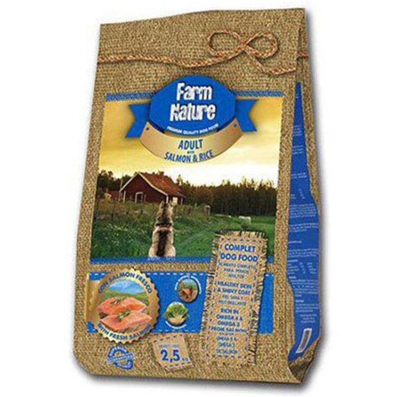 Farm nature salmón y arroz: Servicios Veterinarios de Kan's&co Clínica Veterinària