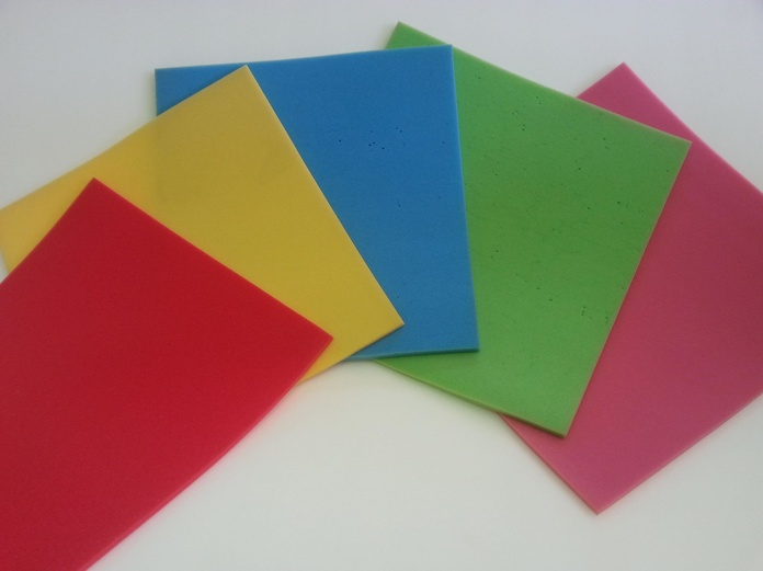 Planchas de Goma Espuma de Colores : Productos y Servicios de Comercial Humanes de Tapicería, S.L.