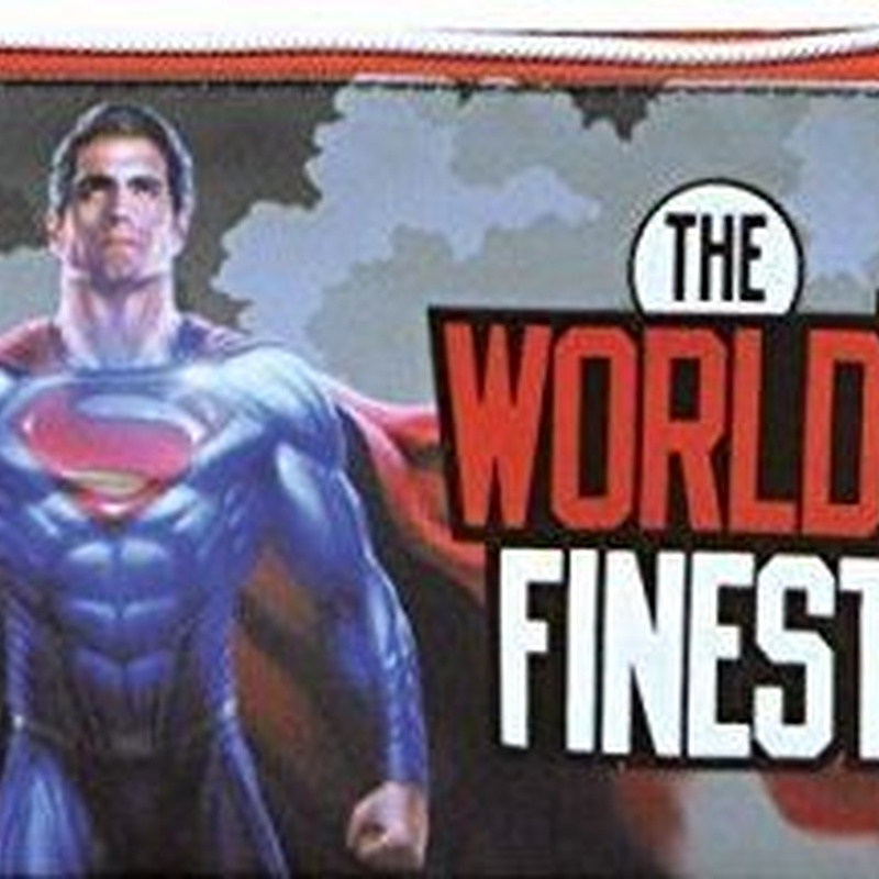 Portatodo triple SUPERMAN-BATMAN. THE WORLD'S FINEST