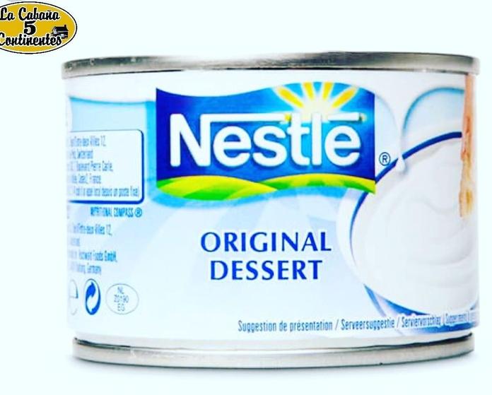 crema de nata 170gr: PRODUCTOS de La Cabaña 5 continentes