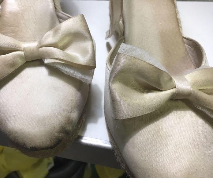 Limpieza de Zapatos: Servicios  de Tintorería Anubis