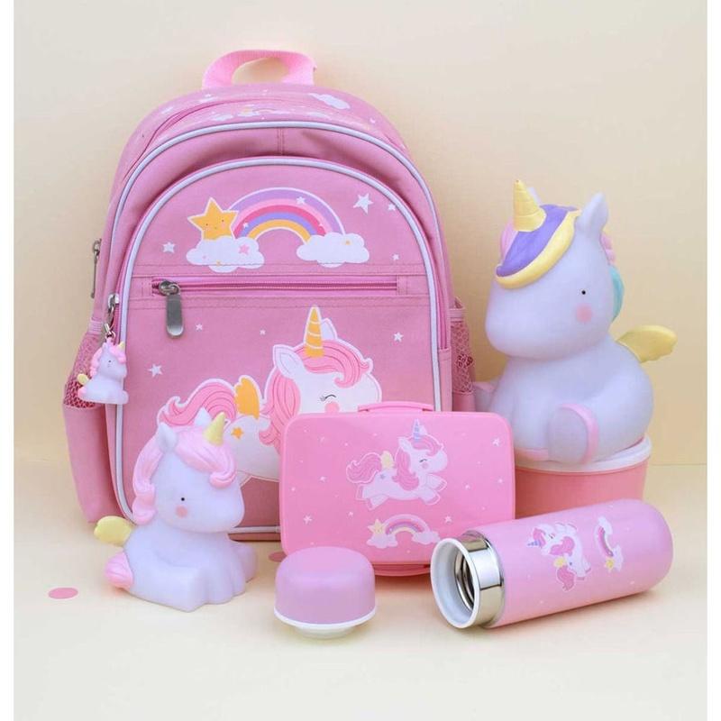 Botella Térmica Acero Unicorn A Little Lovely Company: Productos de Mister Baby