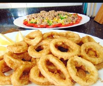 Ensaladas: Nuestros platos de Bar Cafetería La Serna