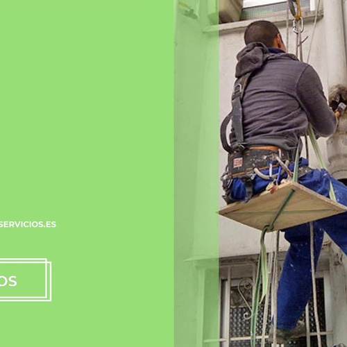 Trabajos verticales en Madrid centro | Cosual Obras y Servicios