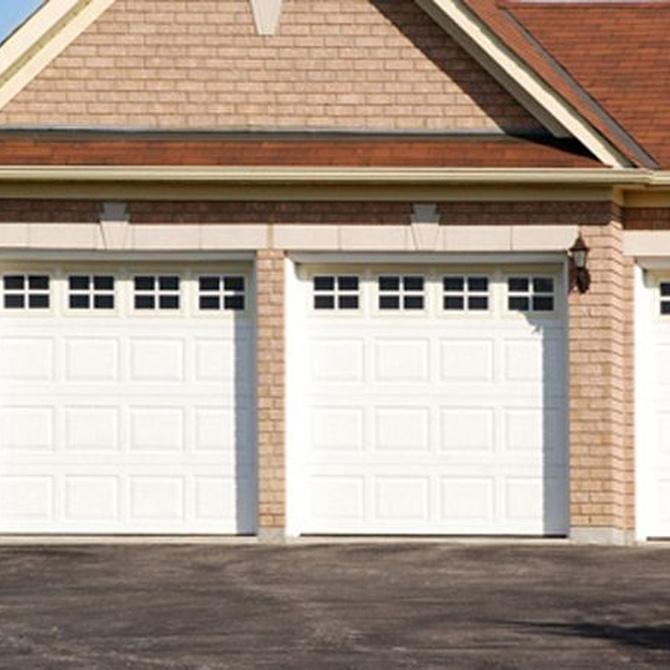 Los problemas más sencillos de la puerta de tu garaje