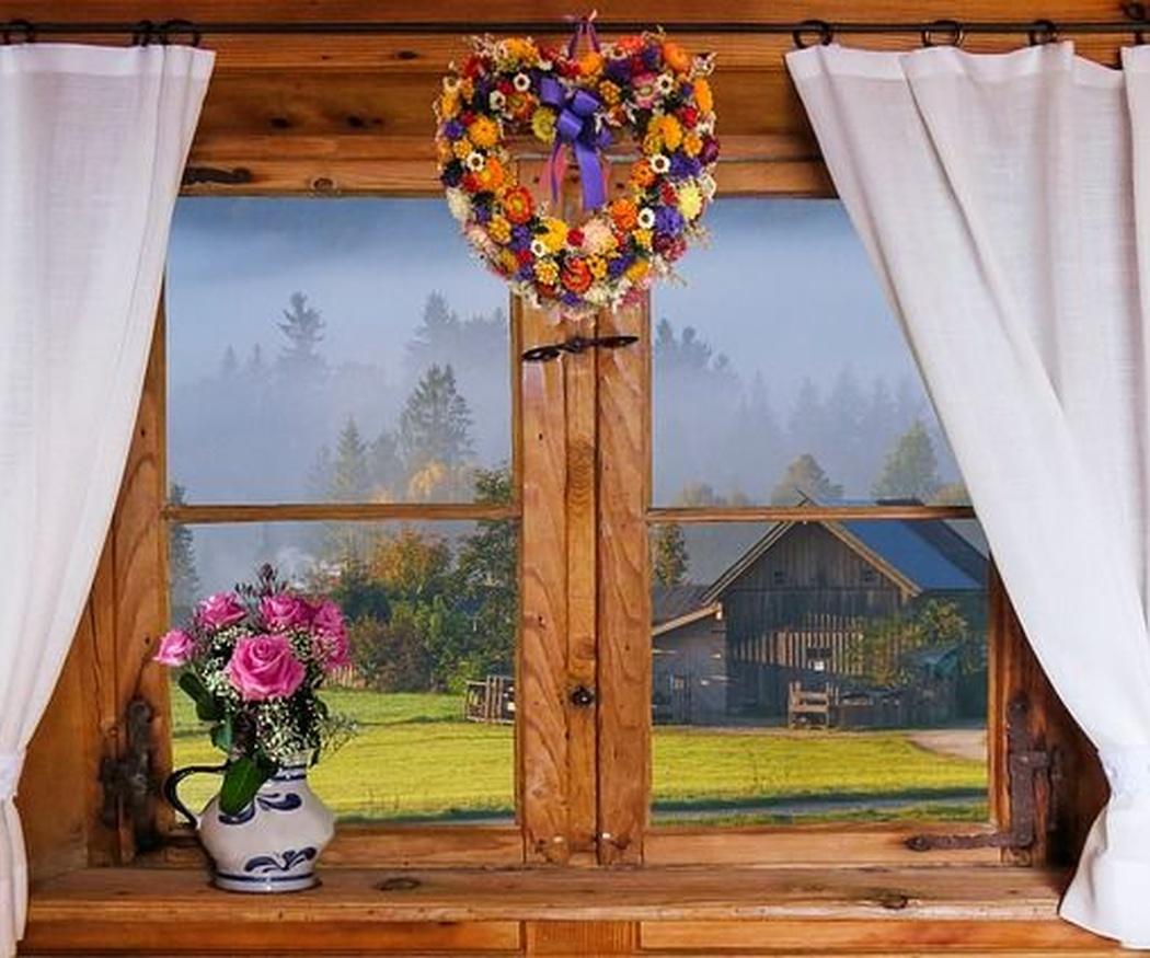Cuidados de las ventanas de madera