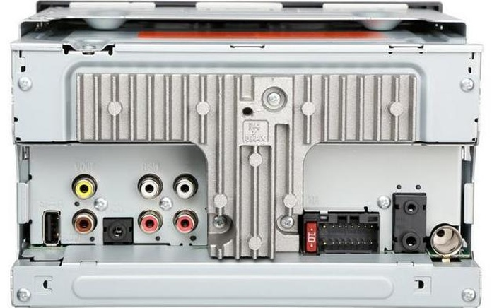 Conexiones traseras Radio Multimedia Pioneer MVH AV290BT