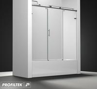 Mampara de baño Profiltek serie Steel modelo ST-111 Light