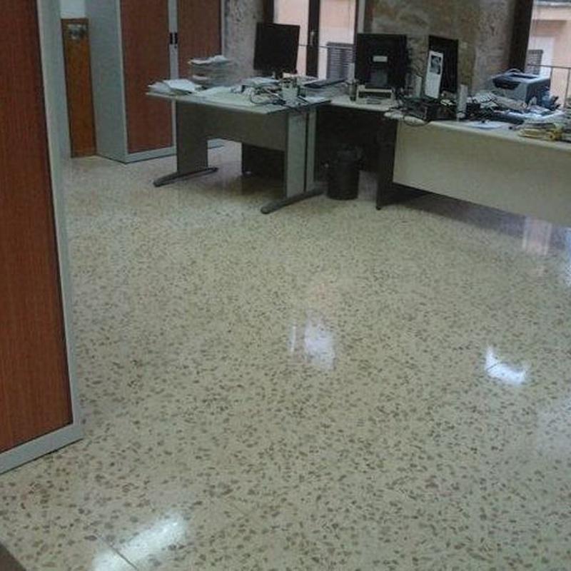 Mantenimiento de oficinas y hoteles: Servicios de Pulidos Reyes