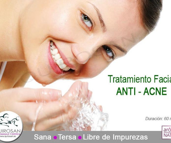 Facial ANTI - ACNE: Servicios de Quirosan