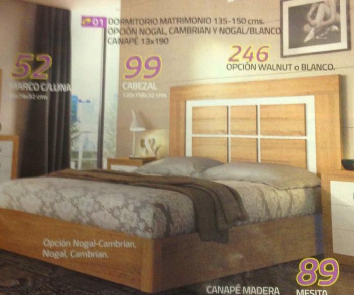 dormitorio mod-01 : Productos  de Muebles Llueca, S. L.