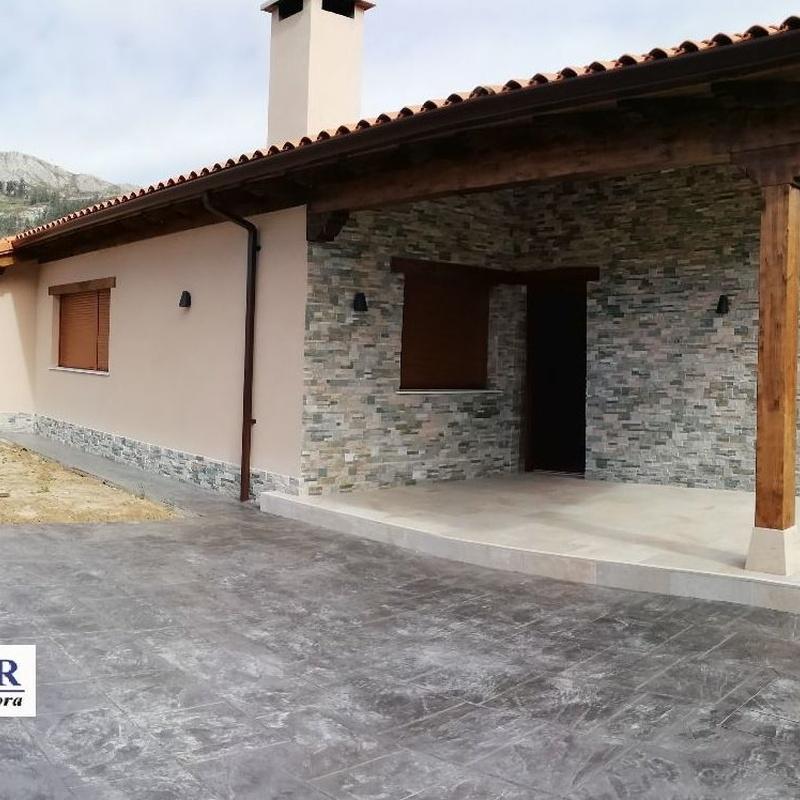 Construcción de chalets en Santander