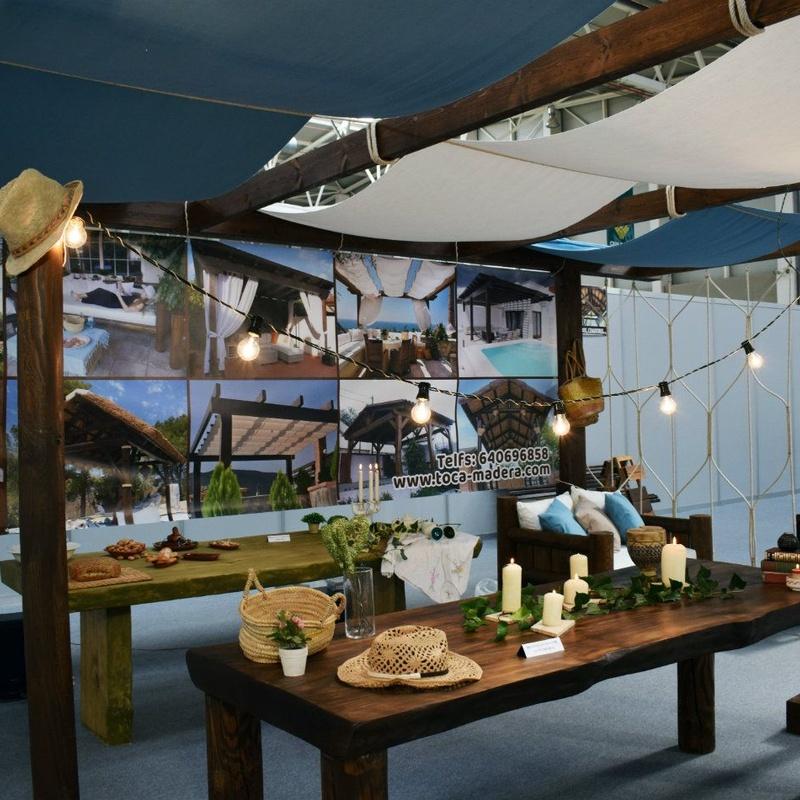 Muebles de interior y exterior: Productos y materiales de Toca Madera