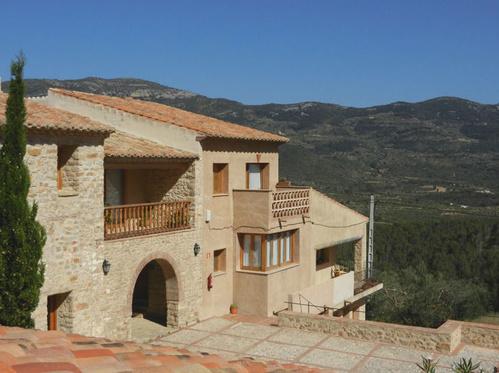Aldea Roqueta, alojamiento rodeado de naturaleza en Culla, Castellón