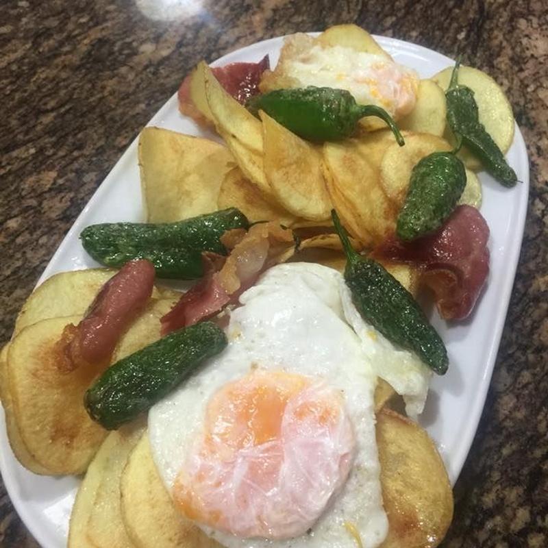 Raciones: Carta de Tapas y menús de Tapería Franja Verde