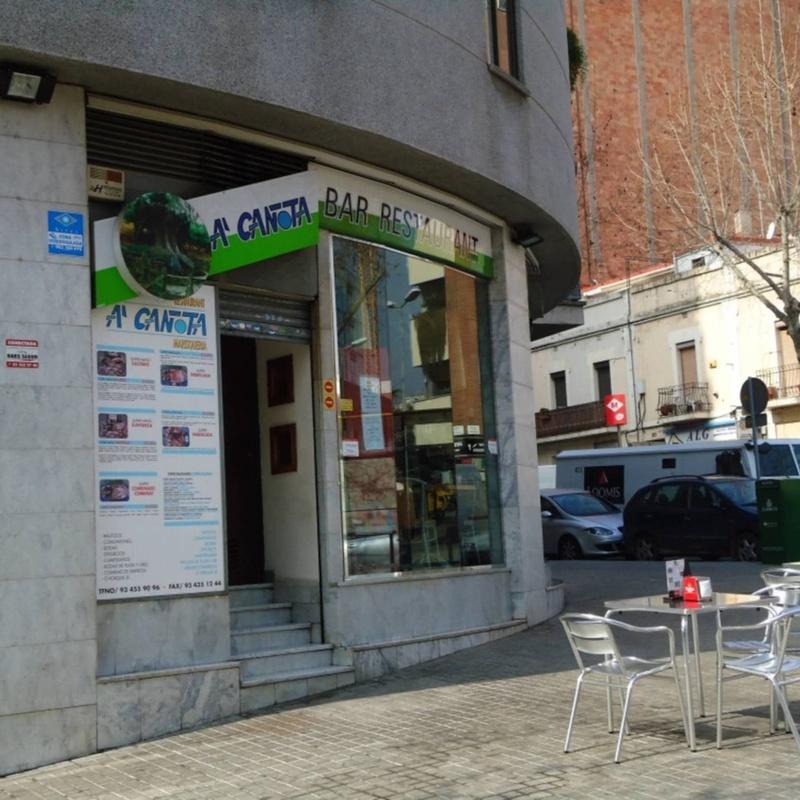 Platos combinados: Productos y servicios de A'Cañota