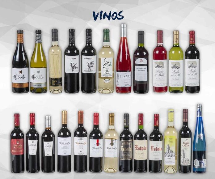 Vinos, licores y bebidas alcohólicas: Productos de Exclusivas San Luis