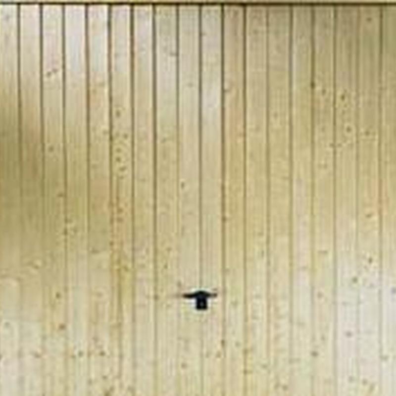Basculante madera verticales