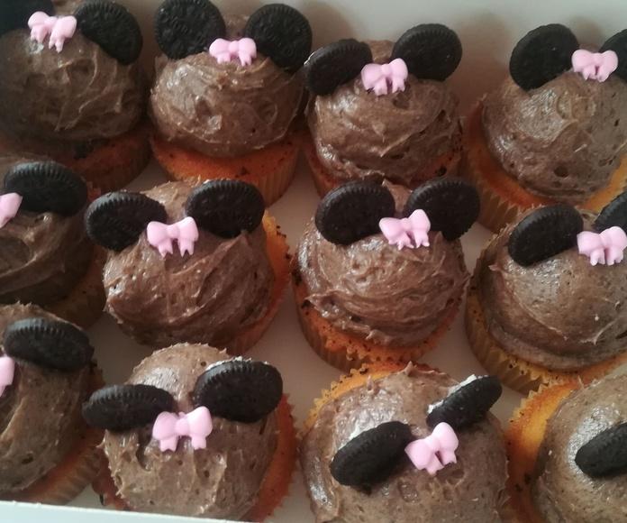 cupcake oreo minie