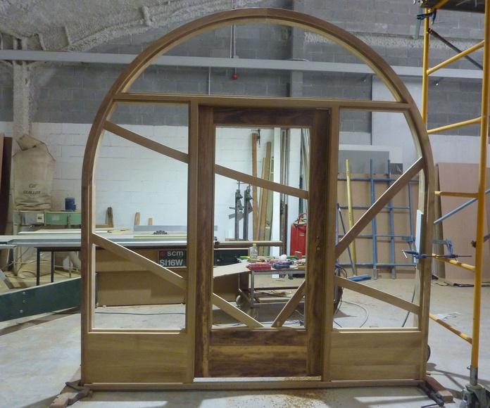 Diseño de puertas para negocios