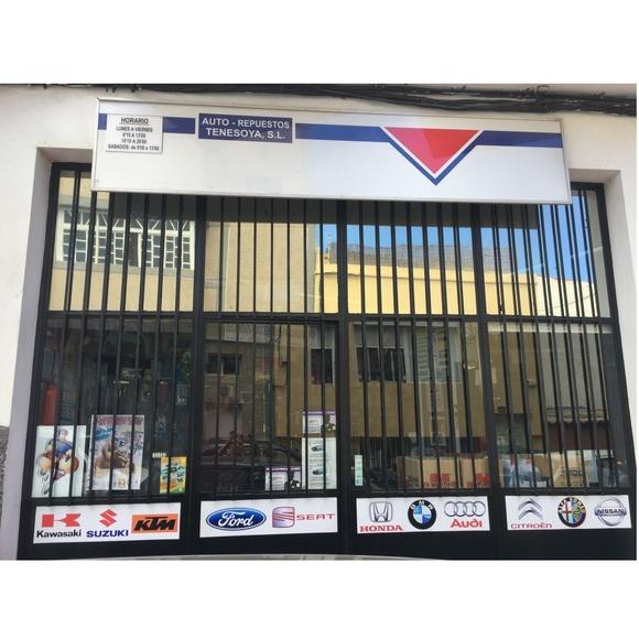 Marcas: Servicios de Auto Repuestos Tenesoya