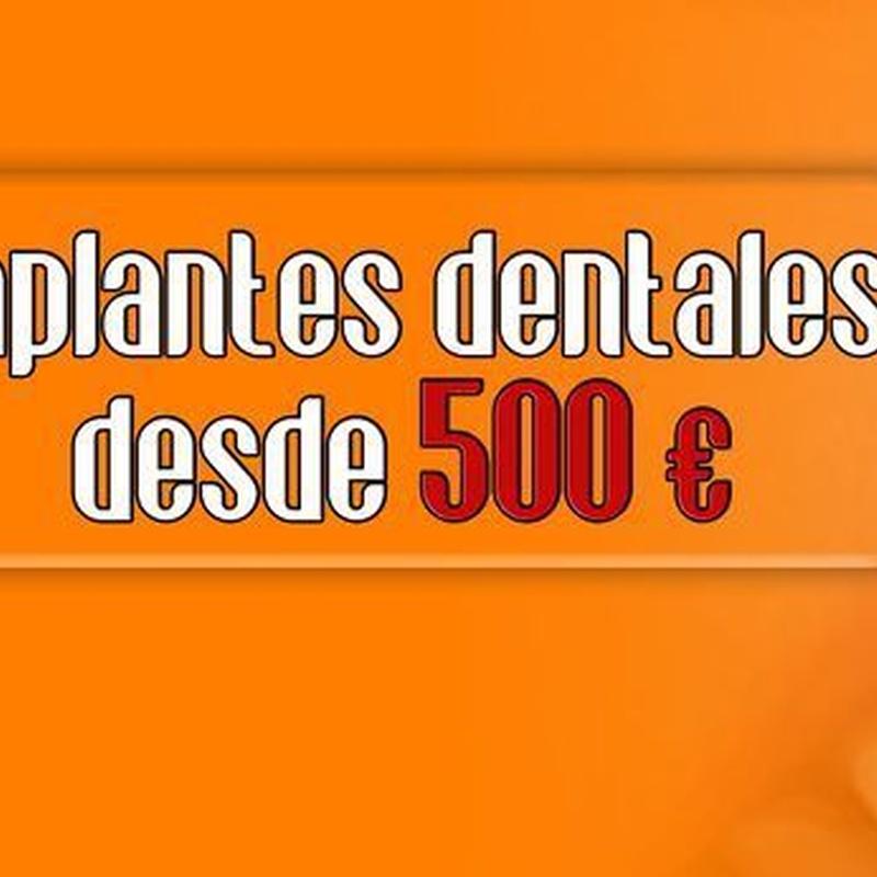 IMPLANTES DENTALES DESDE 500 €: Servicios de Clínica Implanteoral Milladoiro
