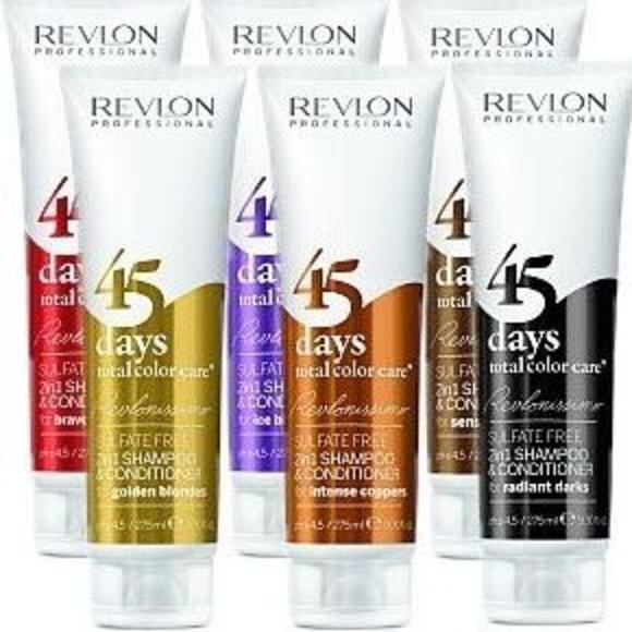 45 days total color care de Revlon: Productos y servicios de Antonio Peluquero