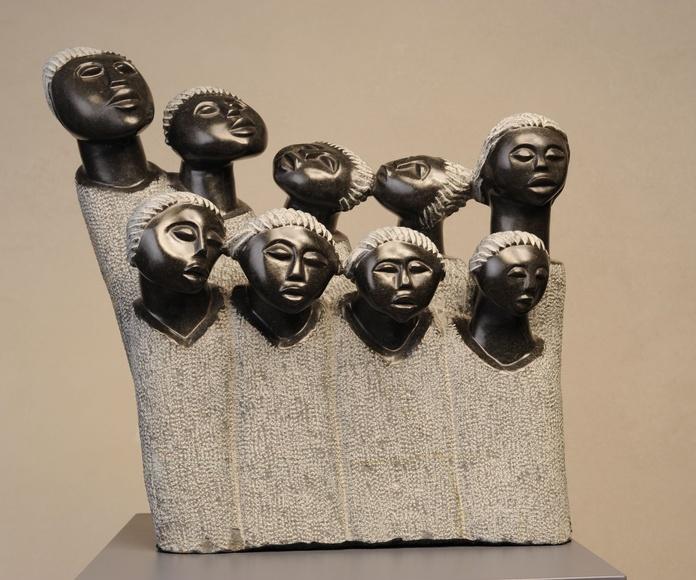 El coro. 44 X 35 cm, Nicholas Kadzungura