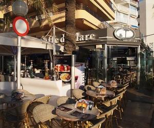 Restaurante con terraza exterior en Salou