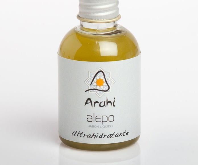 Minipets jabón líquido de aceite de oliva con laurel (alepo): Productos de Arahí