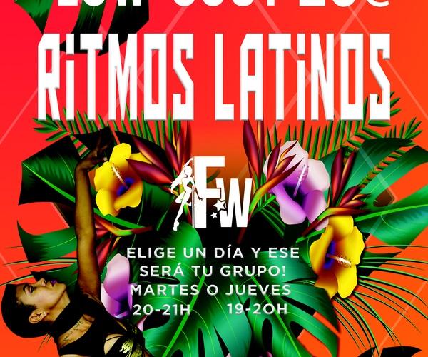 CURSO RITMOS LATINOS LOW COST (inicio en septiembre)