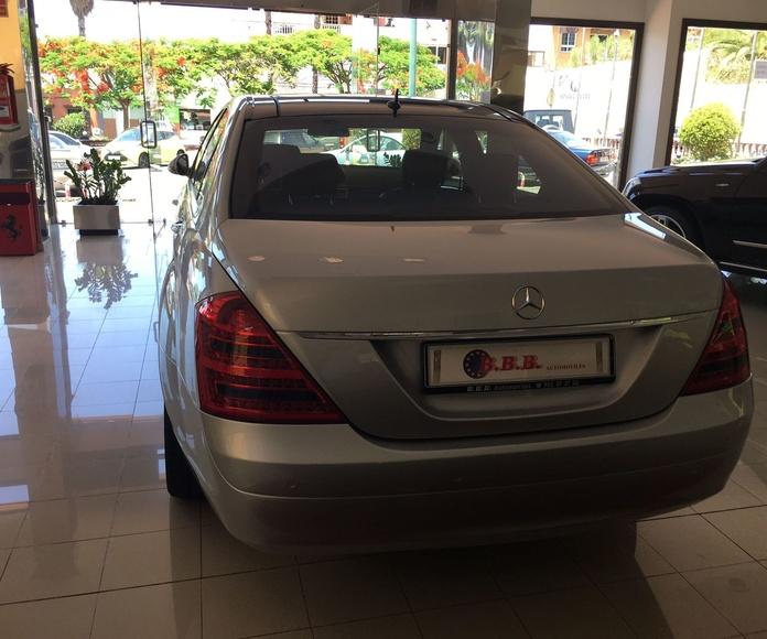 Mercedes Benz S-500-L: Coches de B.B.B. Automóviles