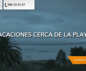 Hostales en la playa de La Ladeira