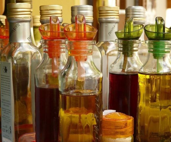 Aceites y vinagres: Productos de Frutas Pablos