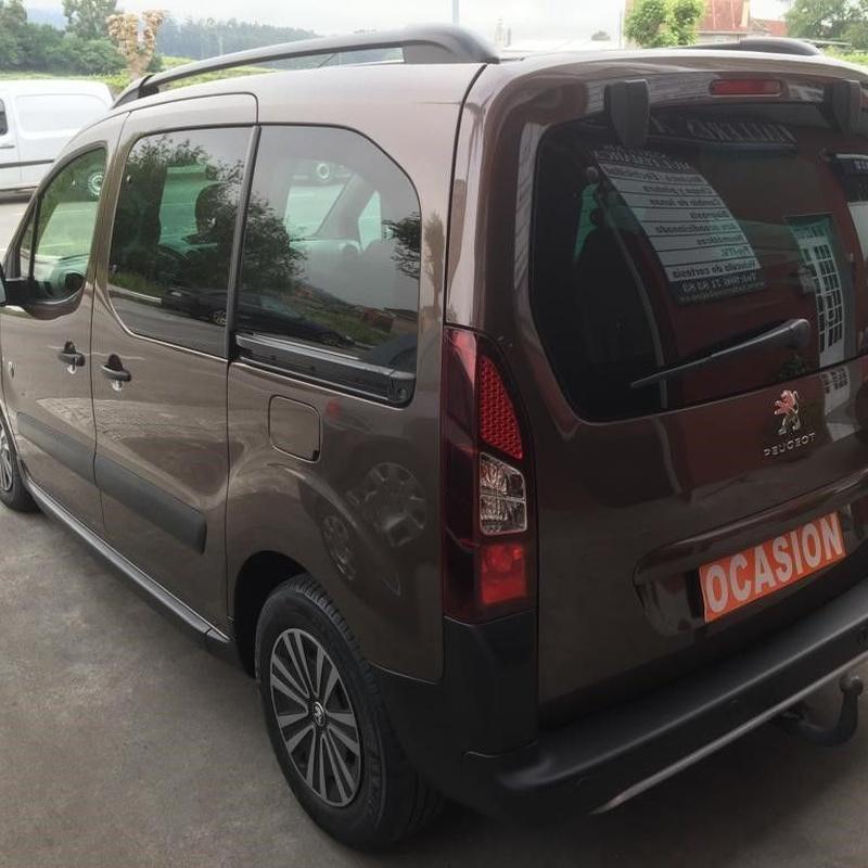Peugeot Partner 1.6HDI 114CV:  de Ocasión A Lagoa