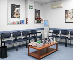Sala de espera de nuestra clínica Max Dental