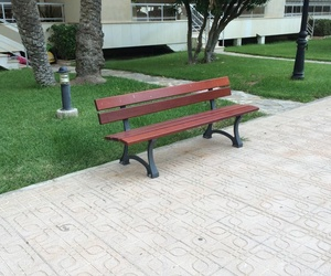 Mobiliario urbano en Alicante