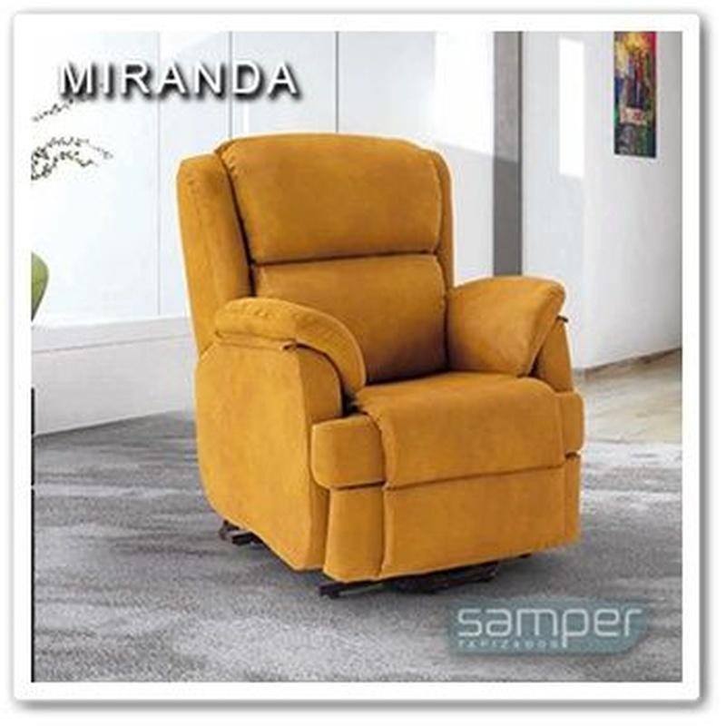 Sillón Reláx Miranda - Tapizados Samper