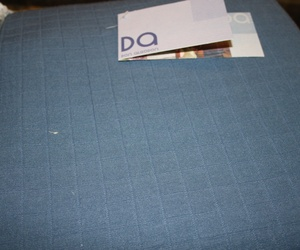 Don Algodón colcha roja y otra azul. Colcha Don Algodón 150 cm.