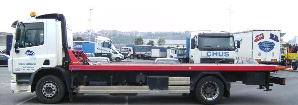 Servicio de grúas Bilbao