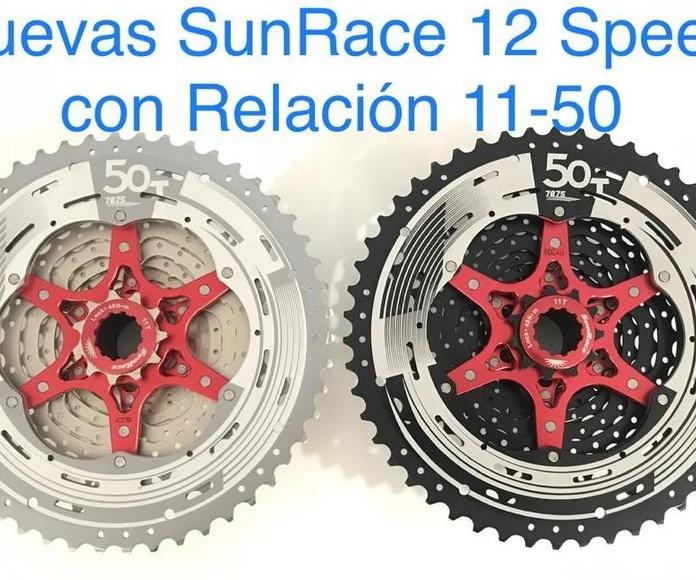 SUNRACE 12 SPEED CON RELACION 11-50: Productos de Bultaco & Bike Doctor