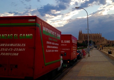 National & International removals in Pamplona.