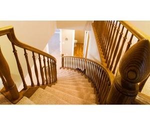 Escaleras de madera en Guipúzcoa