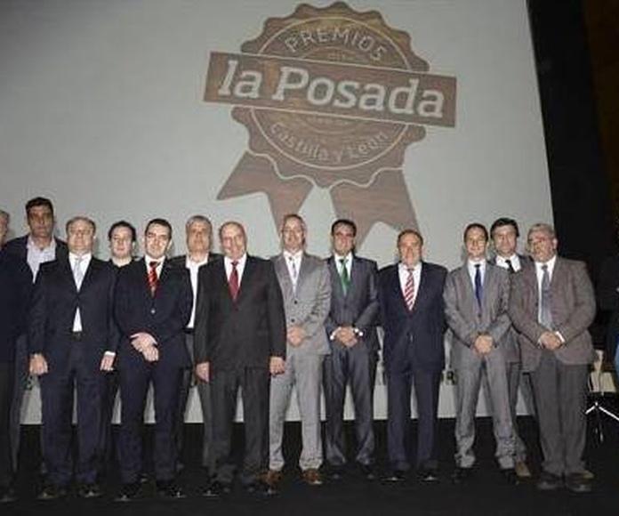 I GALA DE LOS PREMIOS LA POSADA DE CASTILLA Y LEÓN.