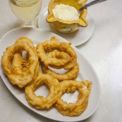 Calamares con ajoaceite en Valencia