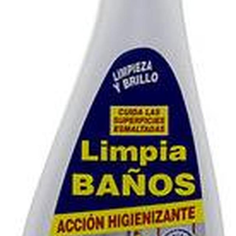 BRIFLOR Limpia baños 500ml. : SERVICIOS  Y PRODUCTOS de Neteges Louzado, S.L.